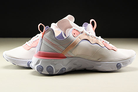 Nike WMNS React Element 55 Pale Pink Washed Coral Innenseite
