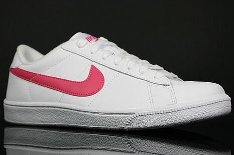 Nike WMNS Tennis Classic Weiss Rose Seitendetail