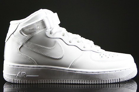 Nike WMNS Air Force 1 Mid White Right