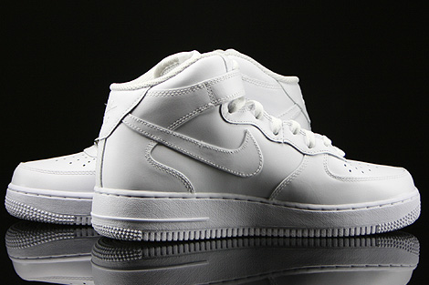Nike WMNS Air Force 1 Mid White Inside
