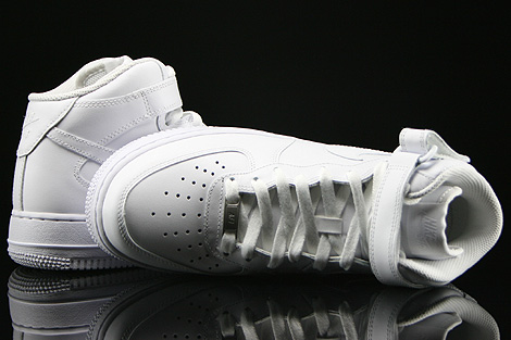 Nike WMNS Air Force 1 Mid White Over view