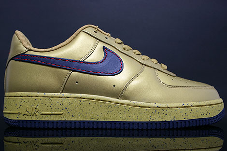 nike air force xxv gold