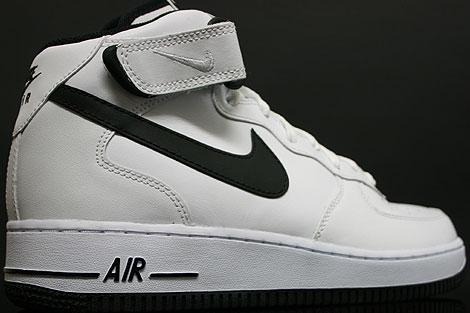 Nike Air Force 1 Weiß Schwarz