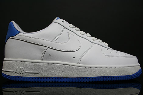 Nike Air Force 1 Low White New Blue