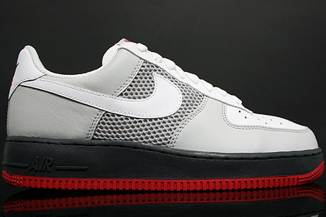 Nike Air Force 1 Low White Grey Black