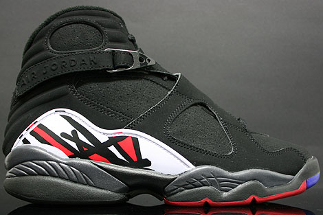 Nike Air Jordan 8 VIII Retro Black Varsity Red
