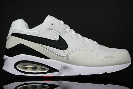 Nike Air Max ST White Black Hot Red