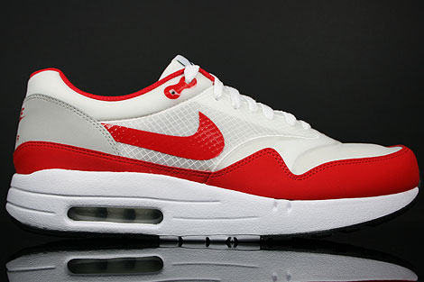 Nike Air Maxim 1+ White Sport Red Neutral Grey