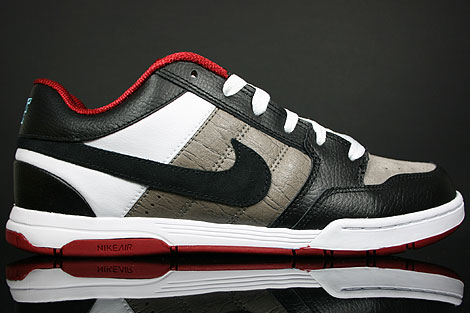 Nike Air Mogan Grey Black White Red