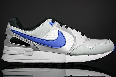 Nike Air Pegasus 89 Silber Blau Schwarz Grau