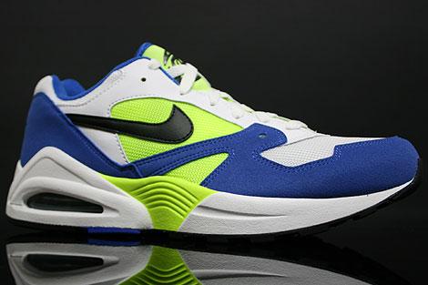 Nike Air Tailwind 92 Blau Schwarz Neon Gelb Weiss Seitenansicht