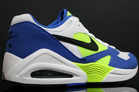 Nike Air Tailwind 92 Royal Black Volt White Back view