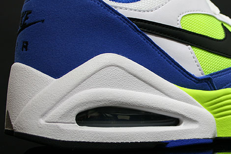 Nike Air Tailwind 92 Royal Black Volt White Over view