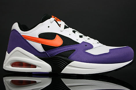 Nike Air Tailwind 92 White Orange Purple Profile