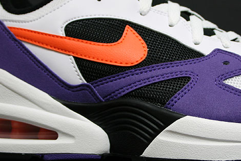 Nike Air Tailwind 92 White Orange Purple Sidedetails
