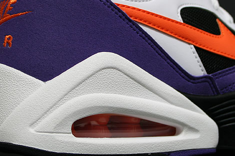 Nike Air Tailwind 92 White Orange Purple Over view