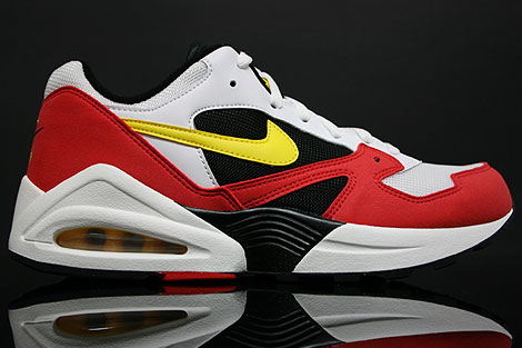 Nike Air Tailwind 92 White Yellow Crimson