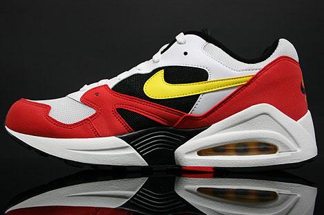 Nike Air Tailwind 92 White Yellow Crimson Inside