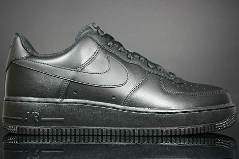 nike air force low schwarz