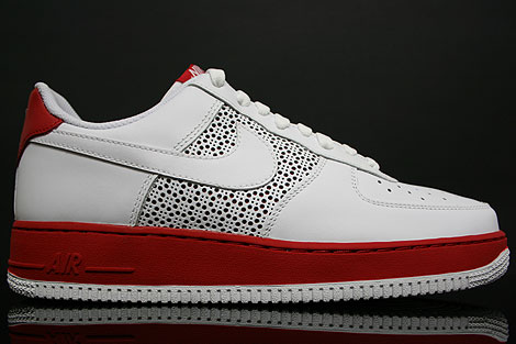 Nike Air Force 1 Low White Varsity Red