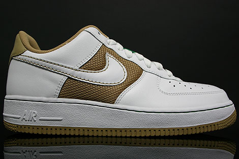 Nike Air Force 1 Low Hay White Pine Green