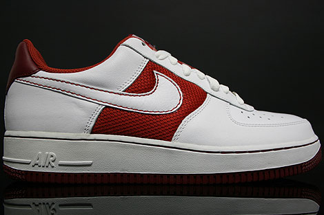 Nike Air Force 1 Low Terra Cotta White Team Red