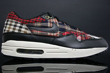 nike air max 1 tartan plaid