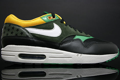 Nike Air Max 1 Black Green Maize