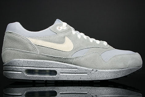 Nike WMNS Air Max 1 Metallic Silver White Black