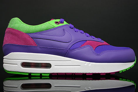 Nike WMNS Air Max 1 Purple Green Rave Pink