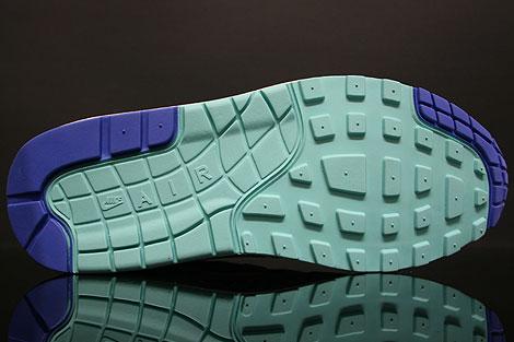 Nike Air Max 1 Premium SP Weiss Blau Mint Rueckansicht