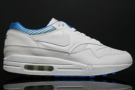Nike Air Max 1 Premium SP White New Blue