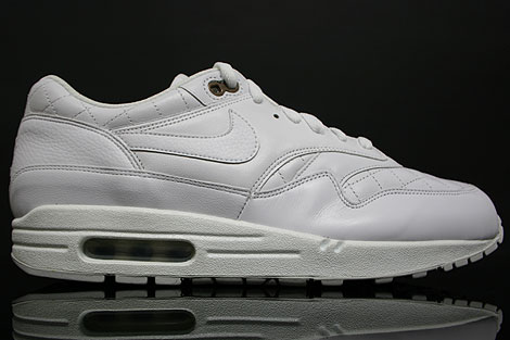 Nike Air Max 1 Premium Weiss Neutral Grau