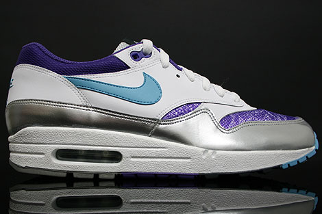 Nike WMNS Air Max 1 White Purple Silver