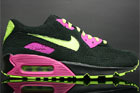 Nike Air Max 90 Premium Schwarz Zitrone Pink