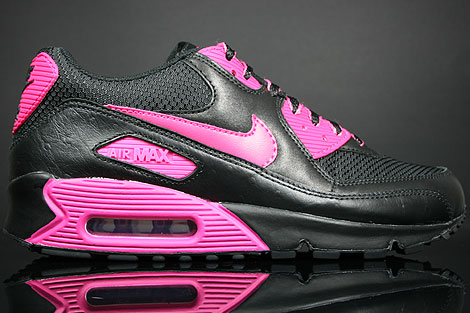 premium selection 5cc46 8244f Nike WMNS Air Max 90 Black Vivid Pink