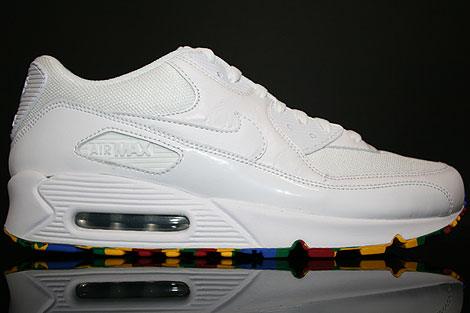 Nike Air Max 90 White Varsity Red