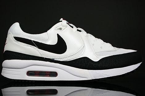 Nike Air Max Light White Black Varsity Red