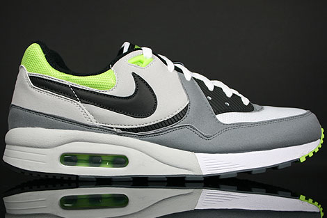 Nike Air Max Light Weiss Grau Neongruen