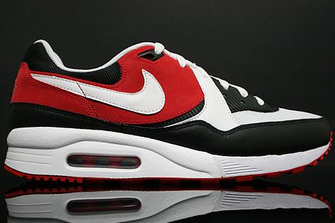 Nike Air Max Light Weiss Schwarz Rot