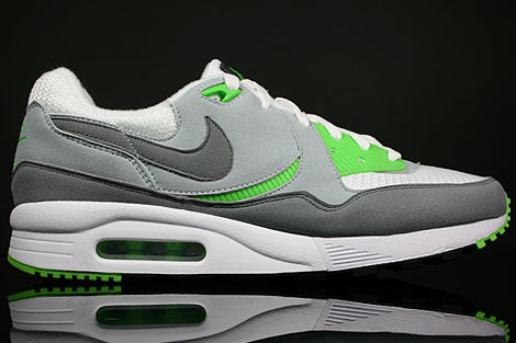 Nike Air Max Light Weiss Grau Giftgruen