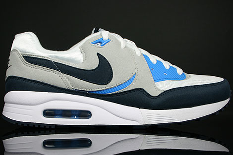 Nike Air Max Light White Obsidian Grey Blue