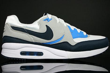 Nike Air Max Light Weiss Dunkel Blau Grau Blau