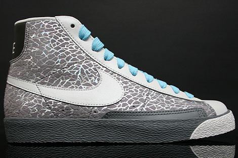 Nike WMNS Blazer Hi Grey Summit White Blue