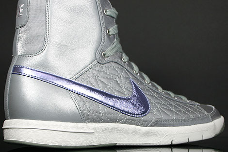 Nike WMNS Blazer Mid Shadow Grey Plum Granite Over view