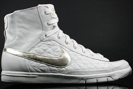 Nike WMNS Blazer Mid Swan Metallic Gold