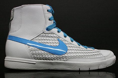 Nike WMNS Blazer Mid White Vivid Blue