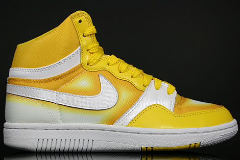 Nike WMNS Court Force Hi Tour Yellow White