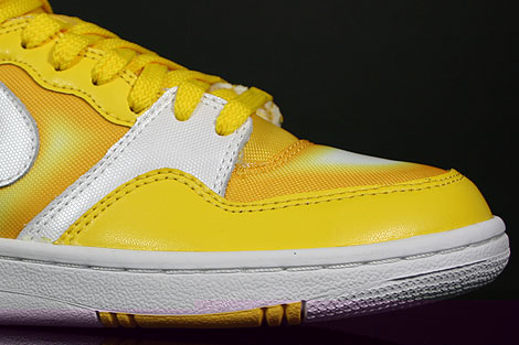 Nike WMNS Court Force Hi Tour Yellow White Sidedetails