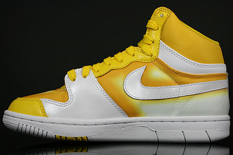Nike WMNS Court Force Hi Tour Yellow White Inside